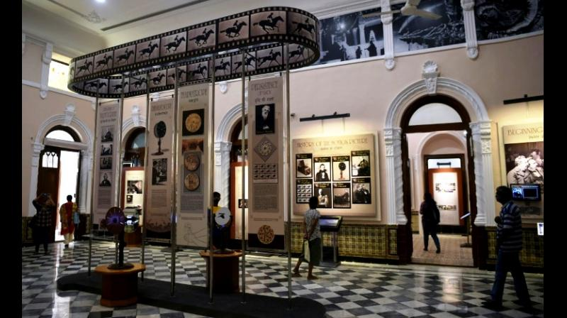 A wide array of exhibits, props and memorabilia are on display at the new National Museum of Indian Cinema. (Photo: AFP)
