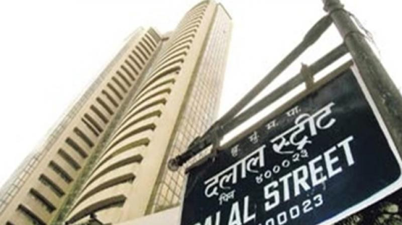 The Sensex plunged 572.28 points or 1.59 per cent to end the session at 35,312.13  (Photo: PTI)