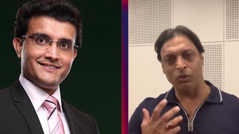 Shoaib Akhtar, 44, hailed the 47-year-old Sourav Ganguly's cricketing knowledge and he said the former skipper has an eye for scouting talent. (Photo: Screengrab/ Shoaib Akhtar Youtube Channel)