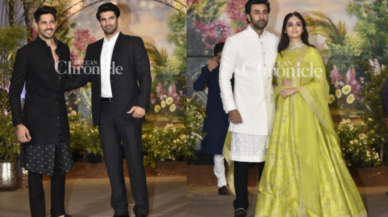 Karan Johar dances his heart out at Sonam Kapoor's reception