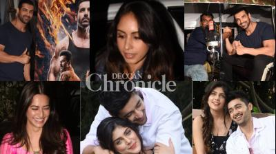 The teams of upcoming films were clicked at events in Mumbai on Saturday as the release dates near. (Photos: Viral Bhayani)