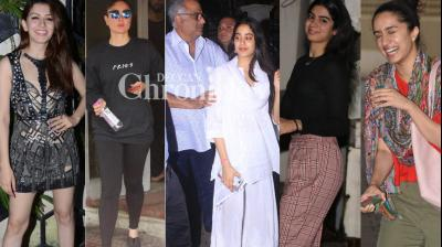Bollywood stars went out and about in Mumbai city on Saturday and were clicked by the cameras. (Photos: Viral Bhayani)