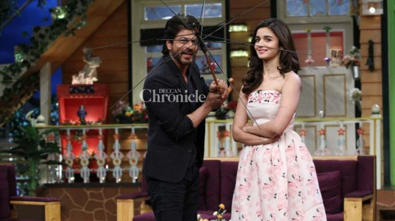 SRK and Alia Bhatt.
