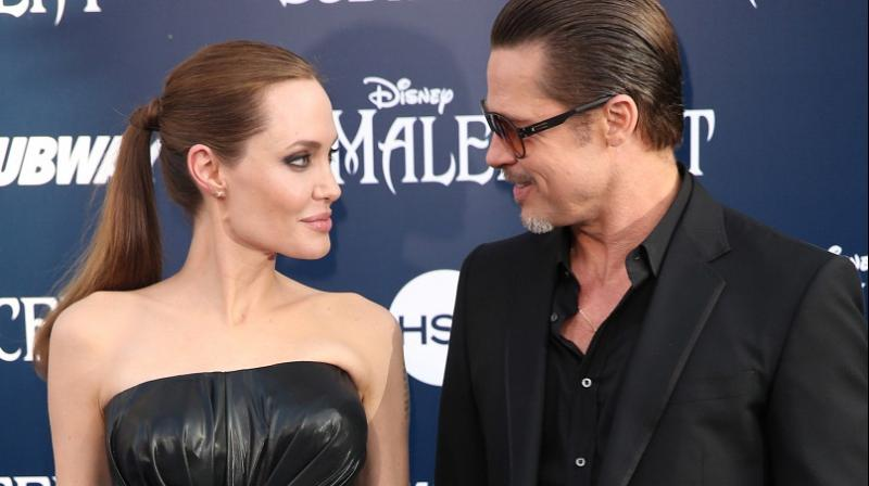 Angelina Jolie and Brad Pitt starred together in 'By The Sea' (2015), a romantic drama film written and directed by Jolie. (Photo: AP)
