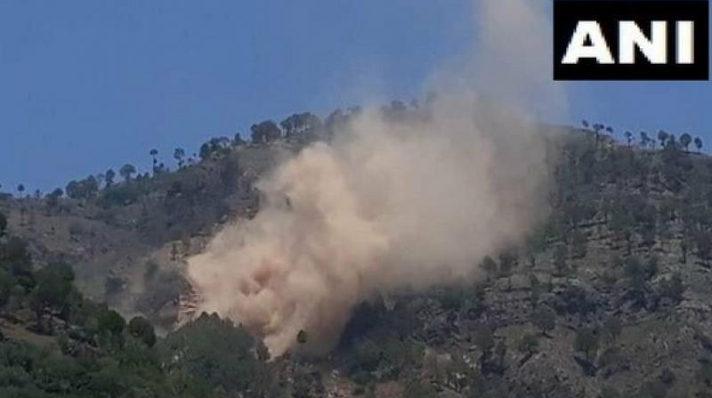 Indian Army hits Pakistan post opposite Rajouri sector