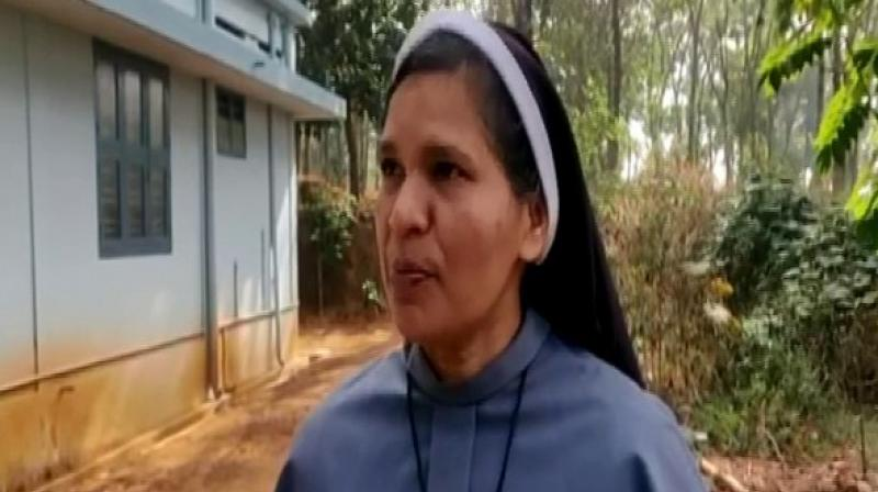 Kerala nun approaches Rome against dismissal from congregation