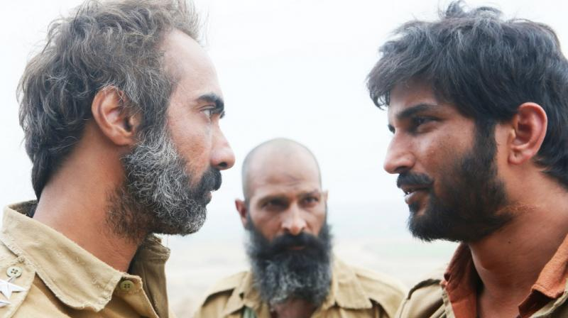 A still from Sonchiriya.