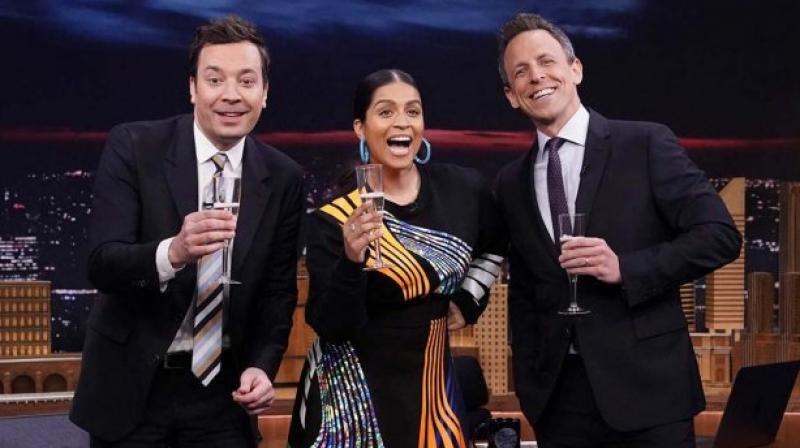 "Lilly Singh, during her appearance on Jimmy Fallon's ""Tonight Show"", the YouTube star talked about her new gig."