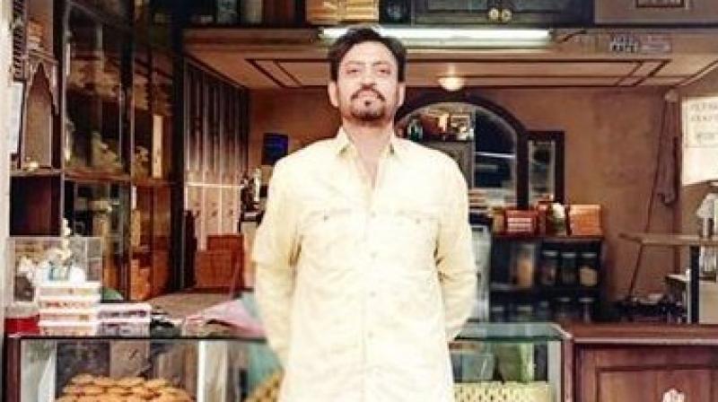 Irrfan Khan's first look in 'Angrezi Medium'. (Photo: Twitter)