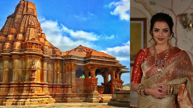 Amitabh Bachchan explored the 1000-year-old twin temples in Madhya Pradesh called the Saas-Bahu temple.