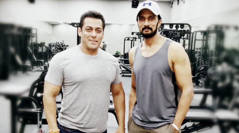 Dabangg 3: Sudeep thanks Salman for making him 'feel at home'