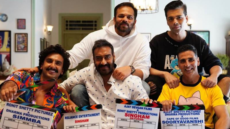 After the success of 'Simmba' and 'Singham', Rohit is expanding his cop universe with 'Sooryavanshi'. (Photo: Twitter)
