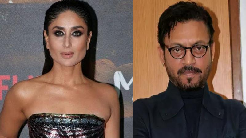 Kareena Kapoor Khan and Irrfan.