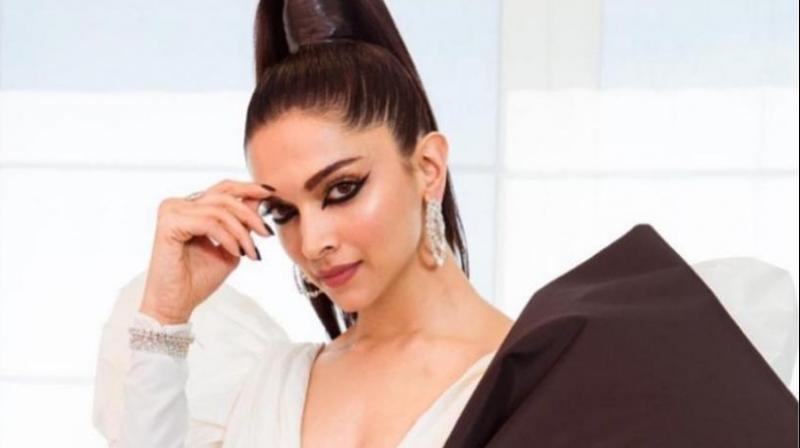 Deepika Padukone' stunning Cannes 2019 look.
