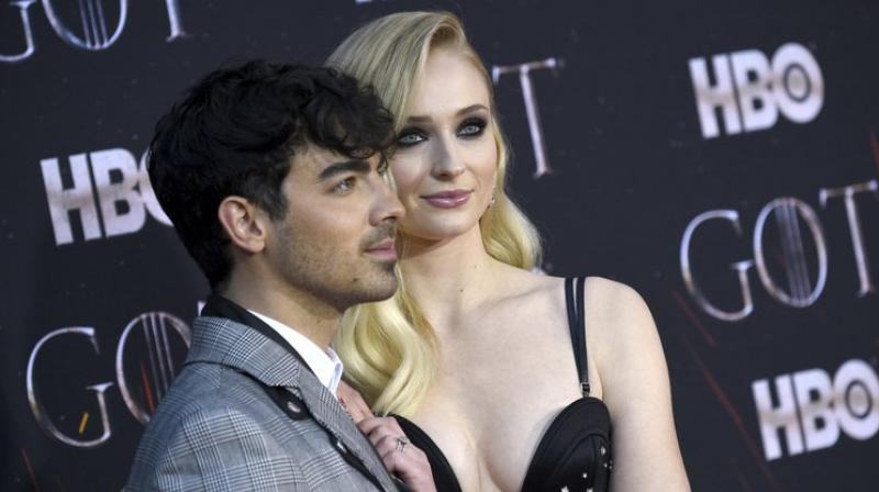Joe Jonas and Sophie Turner. (Photo: AP)
