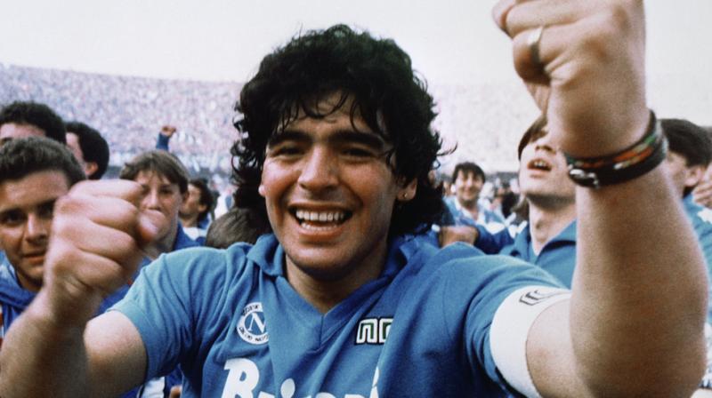A still from 'Diego Maradona'.