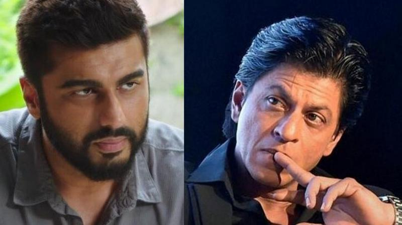 Arjun Kapoor and Shah Rukh Khan.