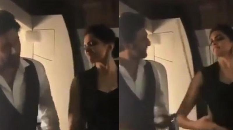 Deepika Padukone and Ranbir Kapoor in the video. (Courtesy: Instagram)