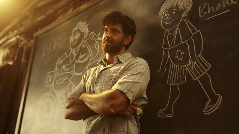 Hrithik Roshan in Super 30. (Photo: Twitter)