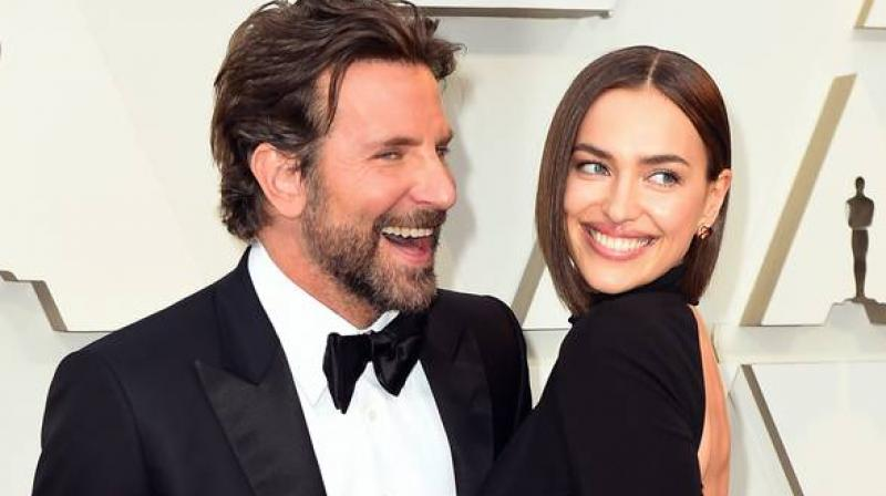 Bradley Cooper and Irina Shayk. (Photo: AP)