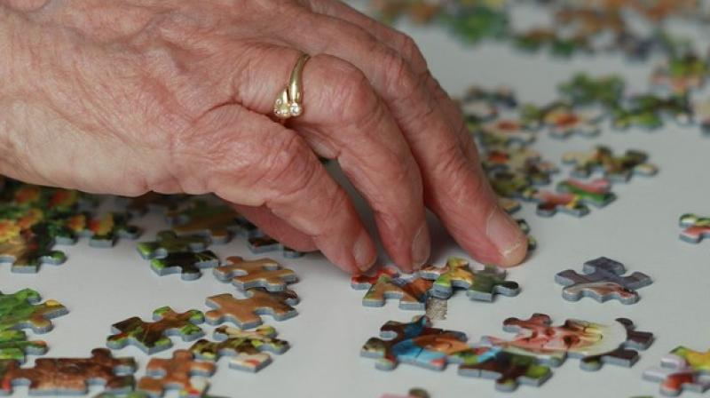 The more regularly adults aged 50 and above played puzzles such as crosswords and Sudoku, the better their brain functioned. (Photo: ANI)
