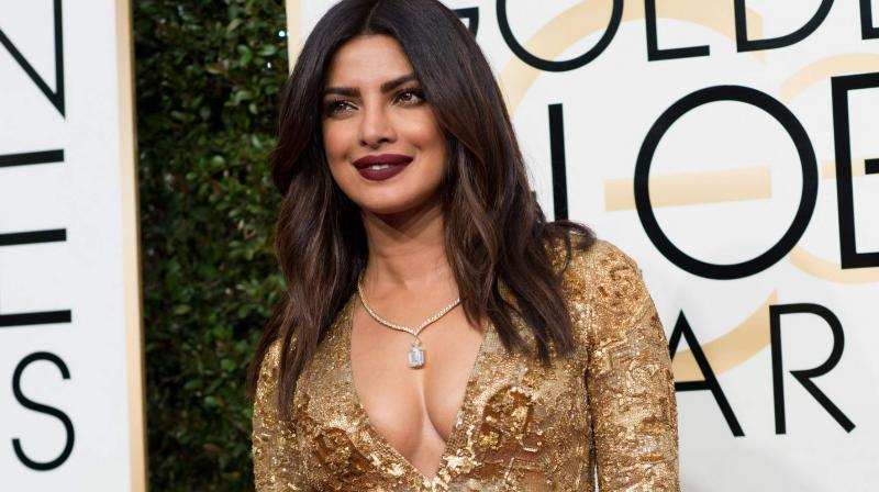 Priyanka Chopra is all set for her Hollywood debut with 'Baywatch' alongside Dwayne Johnson and Zac Efron (Phot credit: HFPA).