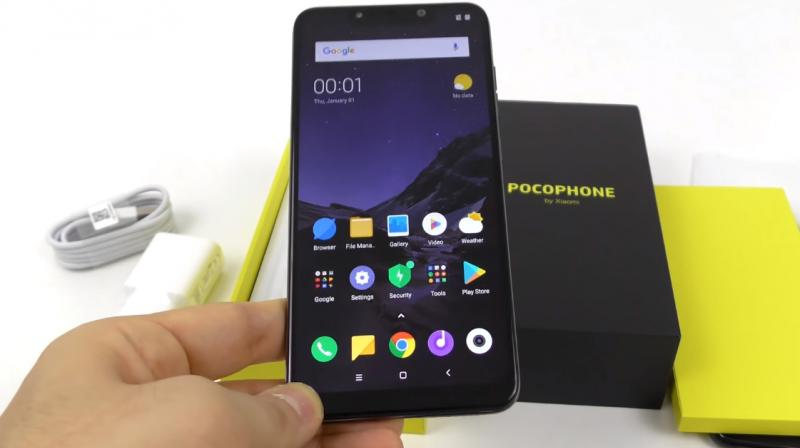 Xiaomi's POCO F1 leaks in hands-on video with plastic rear panel, SD