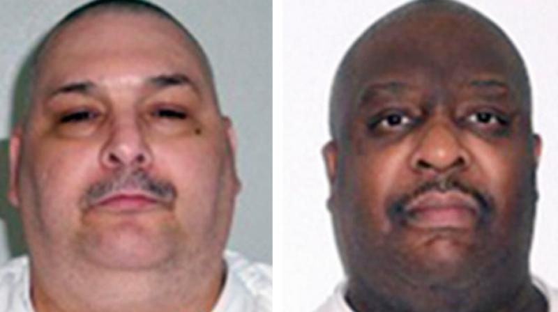 Jack Jones and Marcel Williams, both were sentenced to death in the 1990s. (Photo: AP)