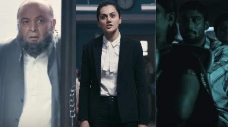 Mulk trailer: Taapsee, Rishi Kapoor are terrific in this intense courtroom drama