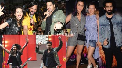 With 'Aiyaary' and 'Kaalakandi' gearing up for release, the actors were snapped at events associated with their films in Mumbai on Monday. (Photo: Viral Bhayani)
