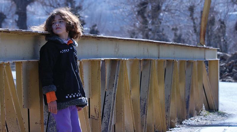 A still from the movie 'Pol-e-Sefid' (White Bridge).