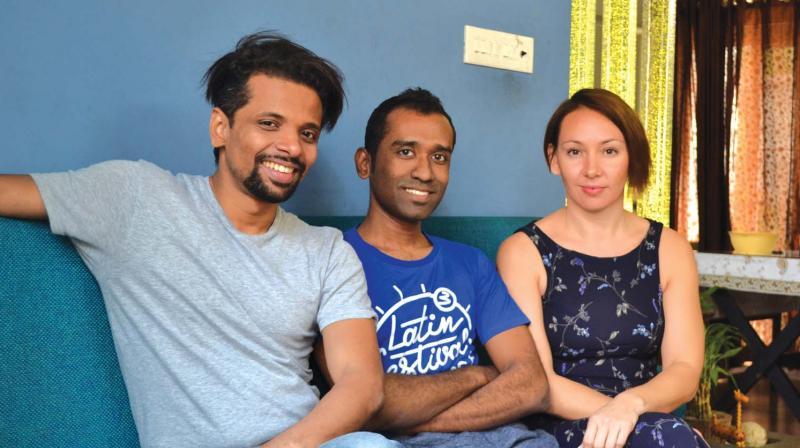 Bonny M Avanoor, Arun Srinivasan and Natalie Tatarinova.