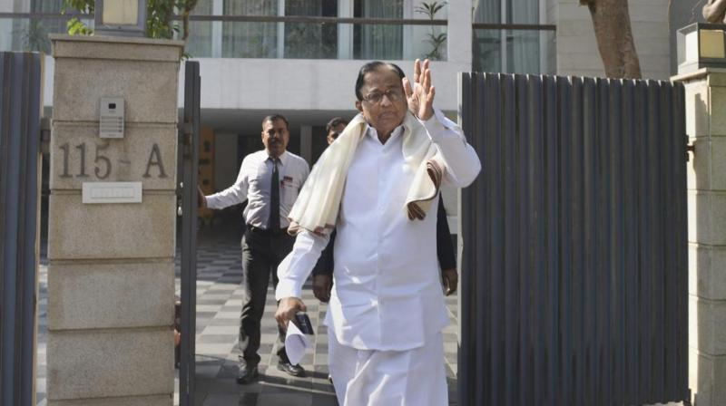 Chidambaram raised a legal issue asking whether without an FIR naming him or his son, the CBI or the ED could probe the alleged offences against them. (Photo: PTI/File)