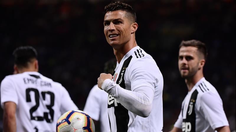 Even if the reports are true, Ronaldo cannot drive the car until 2021 as the company still needs to finalize a few reports on the prototype. (Photo: AFP)
