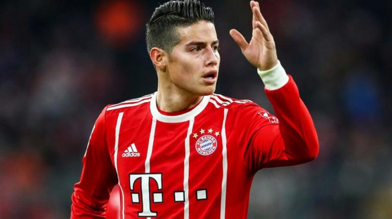 The 27-year-old Colombian won the Bundesliga title in both seasons he was with the club, as well as the German Cup last season. (Photo: James Rodriguez/Twitter)