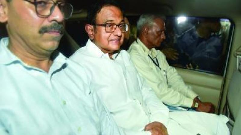 Chidambaram has been kept in the same CBI headquarters building which he inaugurated in 2011. (Photo: File)