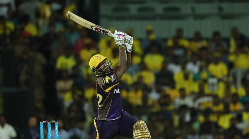 Andre Russell lead the way from the front with a sizzling knock of 88. (Photo: BCCI)