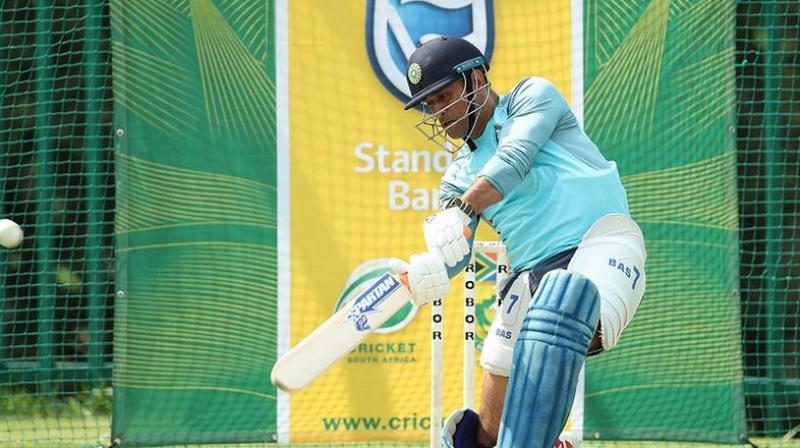 With the ICC Cricket World Cup 2019 fast approaching, Dhoni has been in a fluctuating form having been criticised for his slow-paced innings during India's tour to England. (Photo: BCCI)