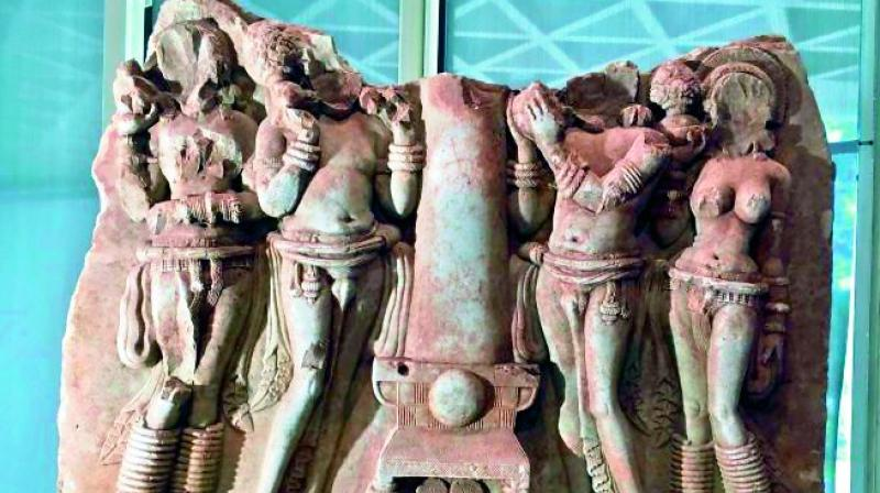 The panel 'Devotees of Buddha', that had gone missing from Amravati, has been returned by Australia.