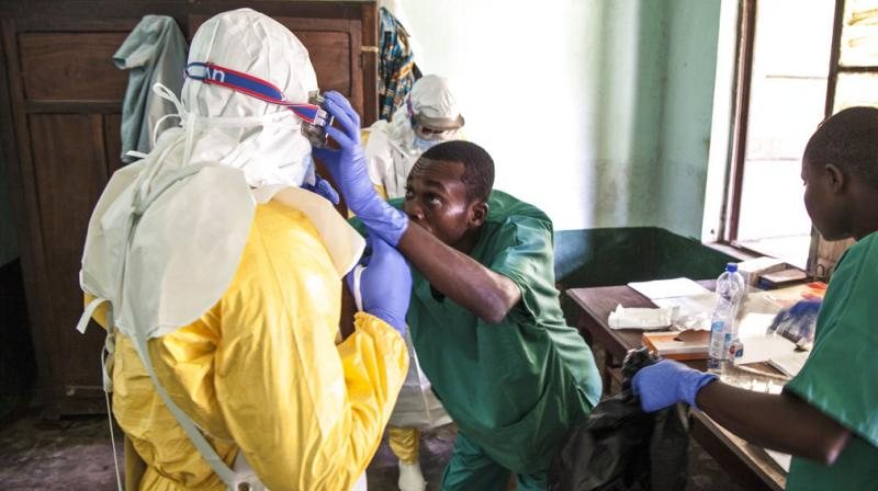 Ebola patients flee hospital in DR Congo: MSF