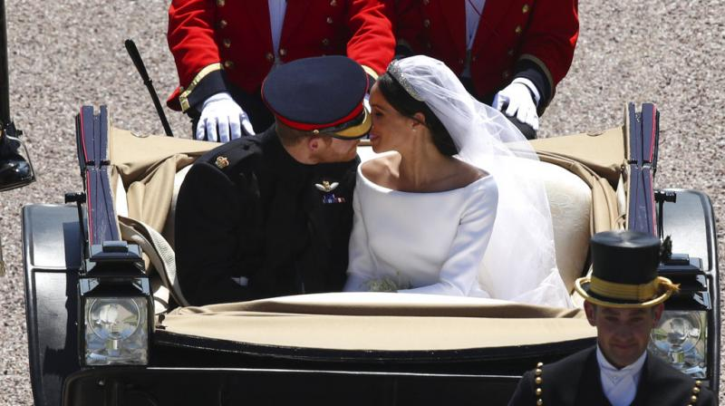 Newlywed Meghan Markle gets her own Web Page