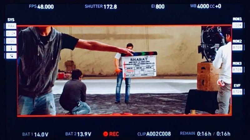 The first shot of Salman Khan starrer 'Bharat'. (Photo: Twitter)