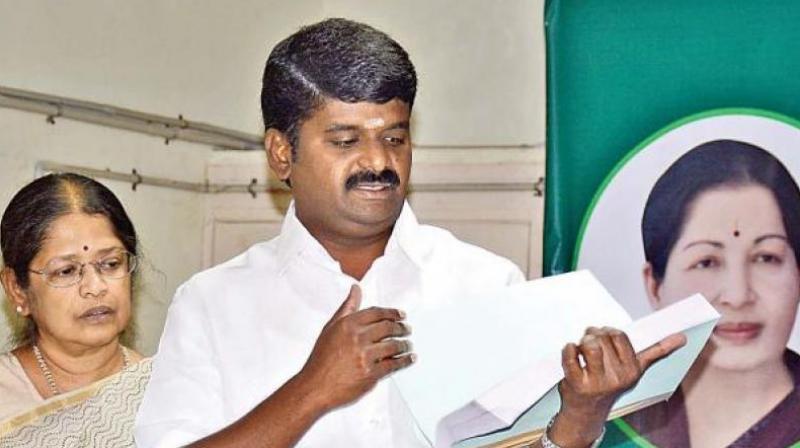 Tamil Nadu health minister C Vijayabaskar (Photo: DC)