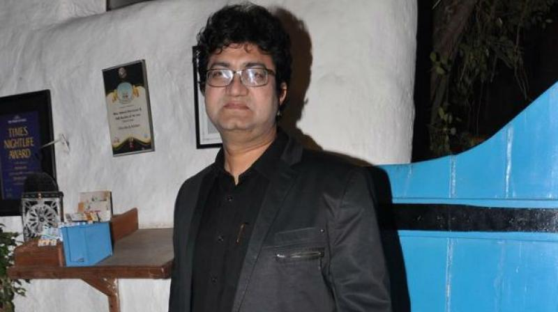 Prasoon Joshi is a renowned lyricist of the Indian film industry.