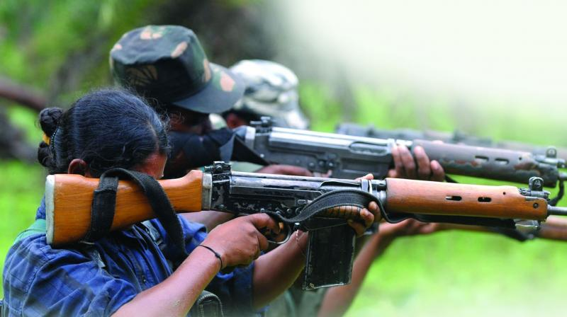 Maoists still have a mass base of two lakh cadres spread over 35 districts and possess nearly 10,000 firearms, 4,000 of them company-made and the rest countrymade.