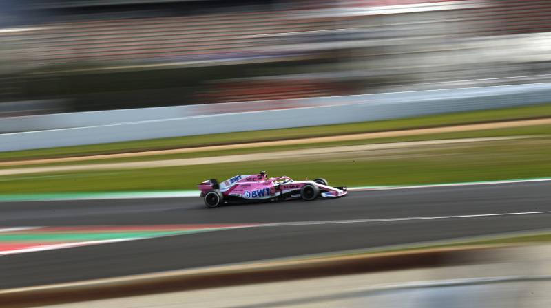 The Force India name will disappear from Formula One next season, after 11 years of competition, with the British-based team entered as Racing Point F1 on a list published by the governing FIA on Friday. (Photo: AP)