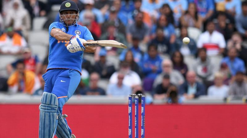 Ganguly said it's not just about Dhoni's batting but also his calming influence on the young batsmen at the other end. (Photo:AFP)