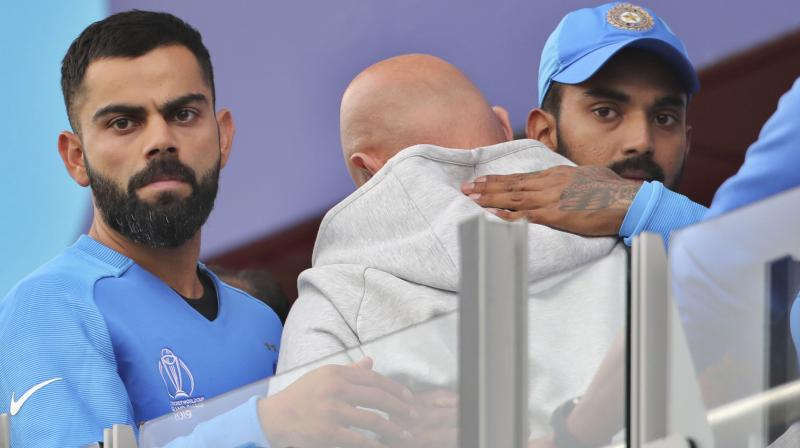 Kohli in a tweet said the team is gutted and share the same emotion with their fans. The India captain further expressed his gratitude to all the supporters who came out in huge number for the team. (Photo:AP)
