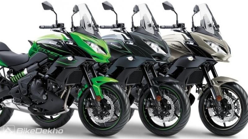 2017 kawasaki versys 1000 and 650 introduced. Black Bedroom Furniture Sets. Home Design Ideas
