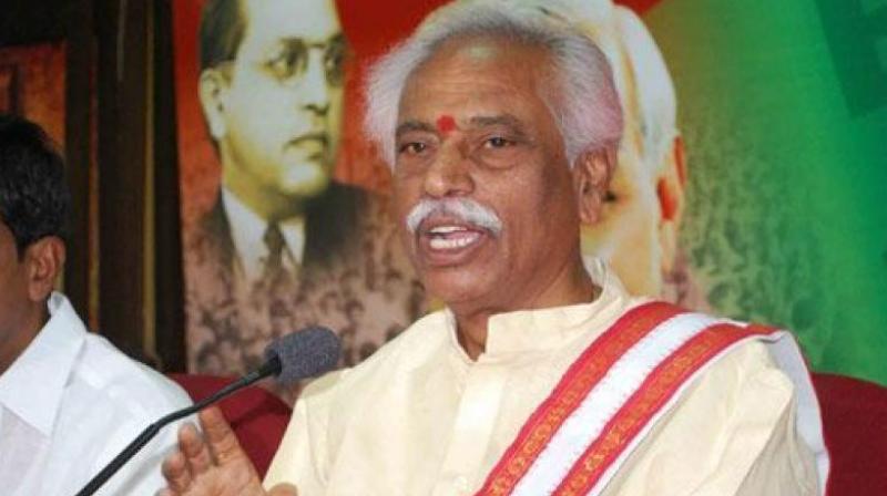 Labour Minister Bandaru Dattatreya.